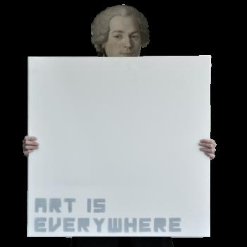 art is everywhere serraglia